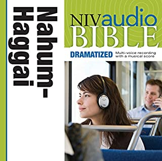 NIV Audio Bible: Nahum, Habakkuk, Zephaniah, and Haggai (Dramatized) cover art
