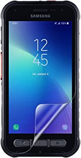Celicious Vivid Invisible Glossy HD Screen Protector Film Compatible with Samsung Galaxy Xcover FieldPro [Pack of 2]