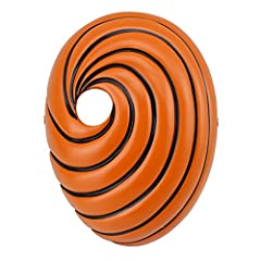 Name: Naruto Tobi Uchiha Obito Cosplay Mask Material: Resin Orange Size: 22cm x 16cm x 6cm/ White Size: 30cm x 18cm x 19cm Color: Orange / White Rulercosplay is the professional supplier of this Naruto Tobi Uchiha Obito Cosplay Mask. We provide high ...