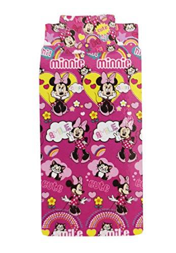 Minnie Completo Letto Rosa Singolo