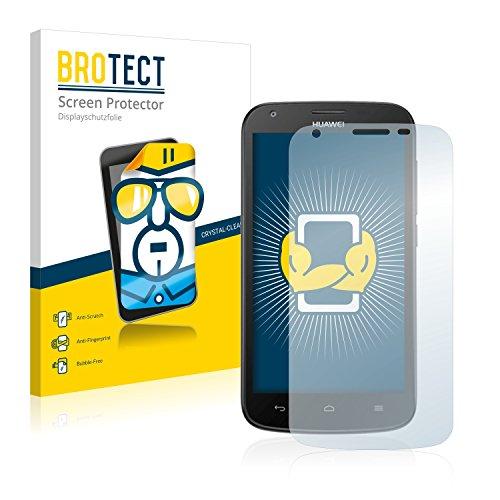 BROTECT Schutzfolie kompatibel mit Huawei Ascend Y600 (2 Stück) klare Bildschirmschutz-Folie