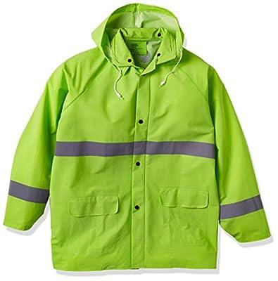 3PR0350NL Boss 3PR0350NL Large Fluorescent Green 35mm Rain Jacket from Boss Gloves