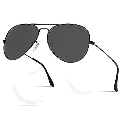 LIVHO 2 Sizes Classic Aviator Polarized Sunglasses