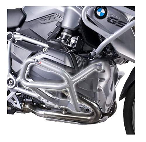 Puig 7543U Engine Guard Down per BMW R1200GS Till data 2014, colore: nero