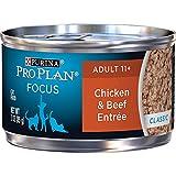 Purina Pro Plan Senior Pate Wet Cat Food, FOCUS Chicken...