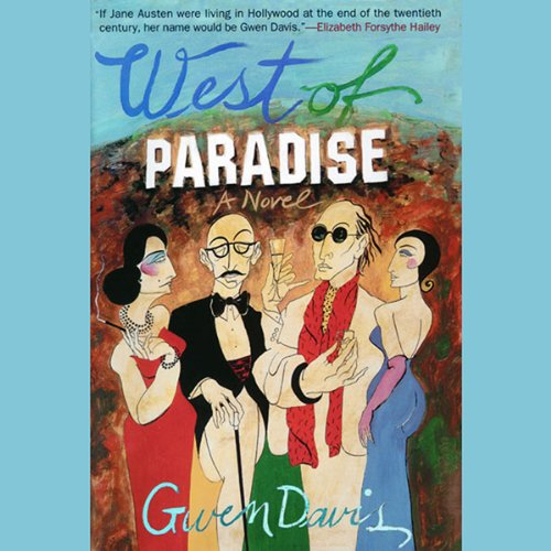 West of Paradise audiobook cover art