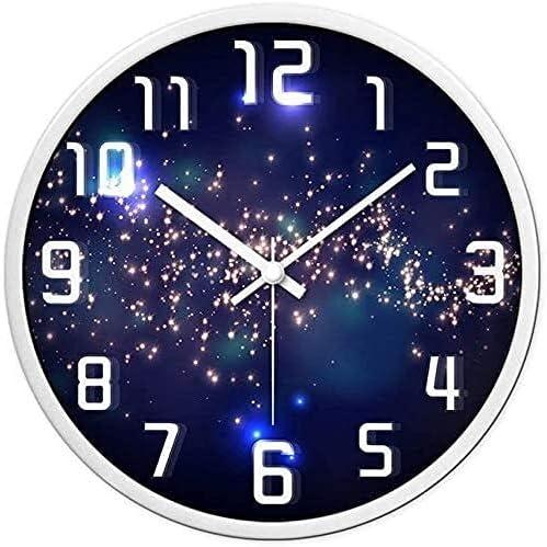 Oklahoma City Mall Kejing Silent Decorative Topics on TV Office Wall Clock Easy Read to