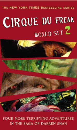 Cirque Du Freak: Books 5-8 (Cirque Du Freak)