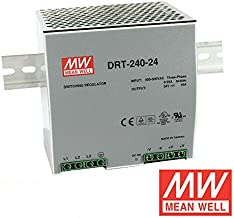 MEAN WELL DRT-240-24 240W 10A 24V mean well three phase Industrial DIN Rail Power Supply