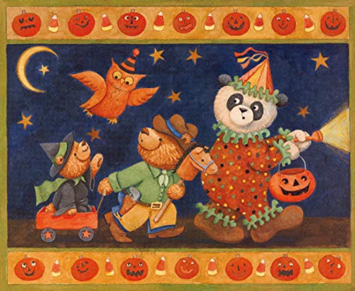 Oso de halloween Puzzle Juego Toys Adultos Clásico Madera Jigsaw Puzzle 1000 Piezas