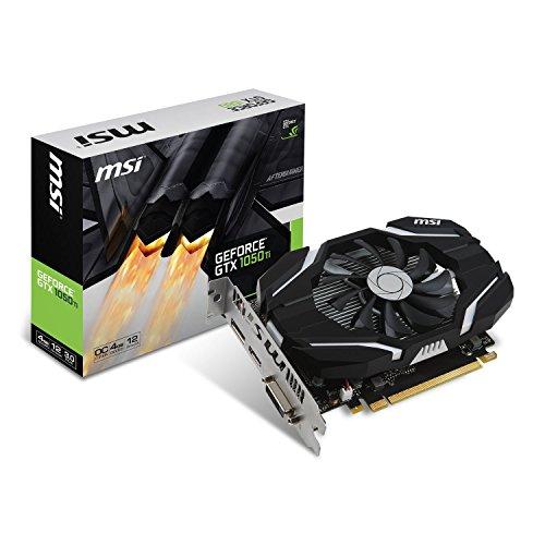 MSI GeForce GTX 1050 Ti GPU搭載 グラフィックスカード OC版 GeForce GTX 1050 Ti 4G OC