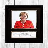 Engravia Digitaldruck Angela Merkel Kanzler Deutschlands