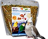 Birds LOVE All Natural Garden Blend Bird Food for Small Birds - Lovebirds, Cockatiels, Parakeets and Parrotlets 2lb