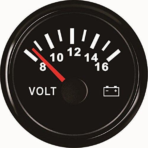 ELING Voltmeter Voltage Gauge 12V 8-16V 52mm(2