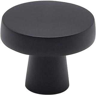homdiy Black Cabinet Knobs for Kitchen Cabinets 25Pack MO5310BK Black Knobs for Dresser Drawers Black Kitchen Knobs
