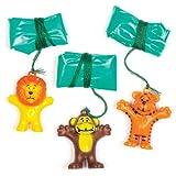 Baker Ross Mini Paracadute Giocattolo per Bambini (Confezione da 8)