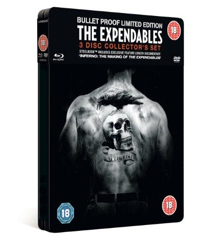 The Expendables Collectors Ed. Steel Tin (Blu-Ray & Dvd Combi) [Edizione: Regno Unito] [Reino Unido] [Blu-ray]