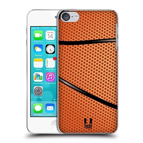 Head Case Designs Baloncesto Colección de Bolas Carcasa rígida Compatible con Apple Touch 6th Gen/Touch 7th Gen