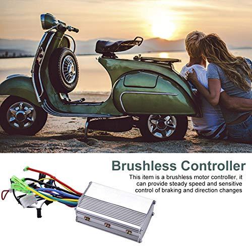 Omabeta Controlador de motor sin escobillas Velocidad constante, para bicicleta eléctrica