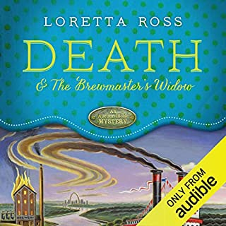 Death and the Brewmaster's Widow audiobook cover art