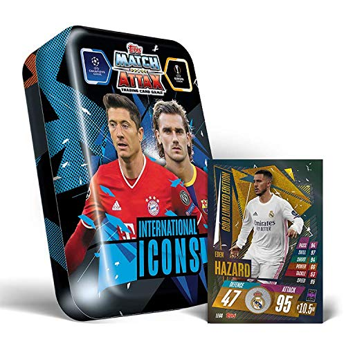 Topps Match Attax 2020/2021 - International Icons Mega Lata
