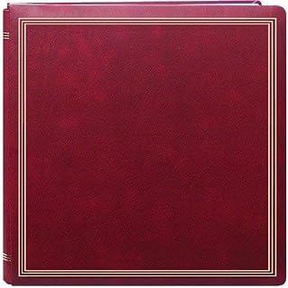 Large Magnetic Page X-Pando Photo Album, Burgandy