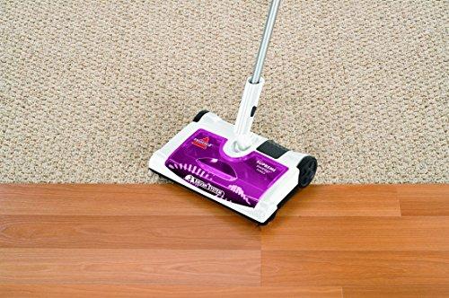Bissell 41051 Supreme Sweep Turbo Kehrer, Akku-Besen für Hartböden und Teppiche, kabellos, aufladbar, 7.2 V - 5