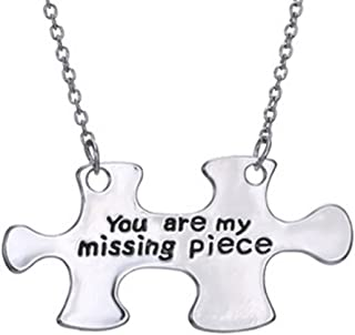 Lovely Land 'You are My Missing Piece'Puzzle Pendant