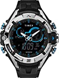 Timex Men's Combo Black Resin Strap Wrist Watch (Model: TW5M23000GP)