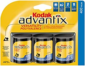 Kodak Advantix 400 Speed 25 Exposure APS Film - 3 Pack