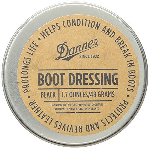 Danner Boot Dressing 1.7 oz Shoe Care Product, Black, Universal Regular US