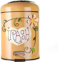 C-J-Xin Pedal-Type Trash Can, Kindergarten Classroom Trash Can Cafe Hotel Decorative Trash Can Multiple Colour Pattern Tra...