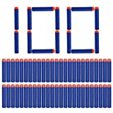 Yosoo® 100Pcs 7.2cm Refill Bullet Darts for Nerf EliteSeries