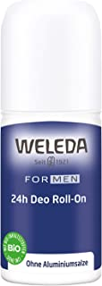 Weleda 24 Hours Roll-On Deodorant, 50 Milliliter