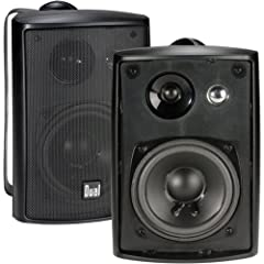 |DESIGNED TO LIVE INDOORS & OUTDOORS| – your studio quality speakers can be mounted/placed in any open space, by the pool, under your patio, in the garage, on a bookshelf; regardless of placement they will deliver Extraordinary Sound |DIGITALLY OPTIM...