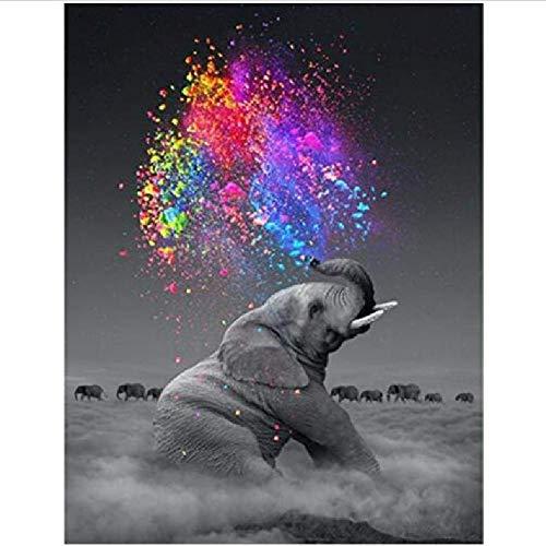 CCEEBDTO Puzzle 1500 Teile Erwachsene Puzzle Holzpuzzle Klassisches 3D Puzzle Grauer Elefant DIY Collectibles Moderne Wohnkultur 87X57Cm