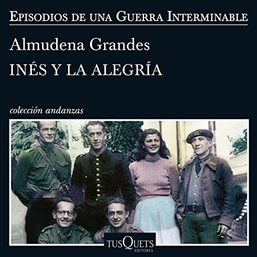 Inés y la alegría audiobook cover art