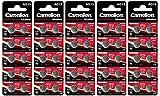 Camelion 12001013B50 Plus Alkaline Knopfzelle (AG13, LR44, LR1154, 357, 50er-Pack, Blister)