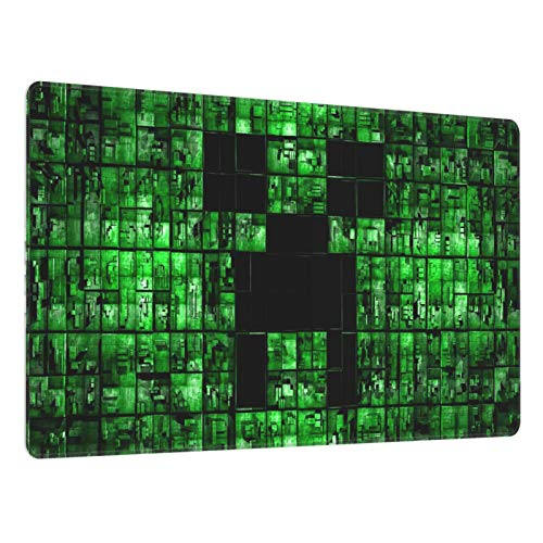 Mi_Necraft Anti Slip Computer Gaming Rubber Large Mouse Pad Suitable for Home Office Gaming and Internet Cafes 15.7x29.5