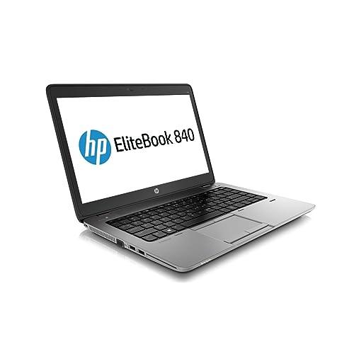 HP EliteBook 840 G1 14-inch Ultrabook (Intel Core i5 4th Gen, 8GB Memory, 180GB SSD, WiFi, WebCam, Windows 10 Professional 64-bit)  (Renewed)