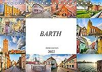Barth Impressionen (Tischkalender 2022 DIN A5 quer): Zwoelf wundervolle Bilder der Kleinstadt Barth (Monatskalender, 14 Seiten )
