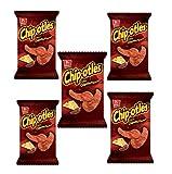 Sabritas Habanero Barcel Chipotles (BOX WITH 5 BAGS) 62 grams each
