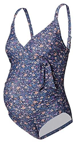 Noppies Swimsuit Saint Tropez Umstandsbadeanzug Damen Bademode/Badeanzüge (XS-S (32-36), C165 - Dark Blue) 1834310
