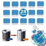 28 Pieces Washing Machine Cleaner, Washer Machine Cleaner for Bath Room Kitchen
