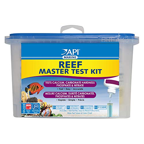 API Master Test Kit for Reef Aquarium