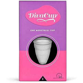 DivaCup - Menstrual Cup - Feminine Hygiene - Leak-Free - BPA Free - Model 1