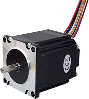 STEPPERONLINE Nema 23 Integrated Stepper Motor 126 Ncm(178.4oz.in) with Stepper Controller ISC04 12-38VDC
