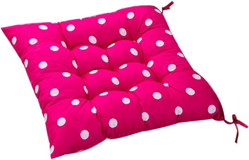 Muranba 2019 ! Durable Polka Dot Chair Cushion Garden Dining Home Office Seat Soft Pad 8 Colors (G)