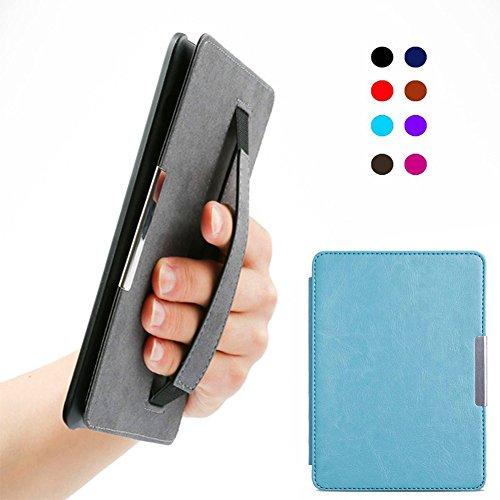 Scrox Cubierta Kindle papel blanco 5 Ultra Slim Smart Funda de piel Protector portátil