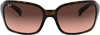 Ray-Ban Women's RB4068 Sunglasses, Havana, 60